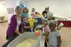 Stop Hunger Now Meal Packing at Andrew Chapel