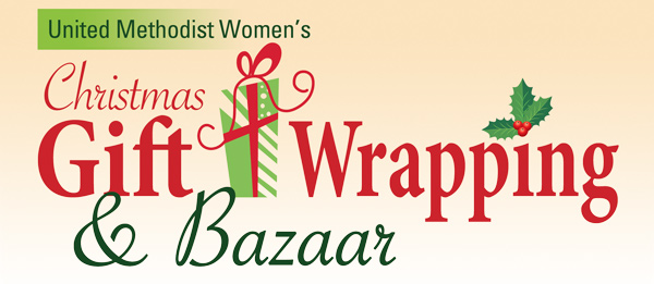 Christmas GIft Wrapping and Bazaar