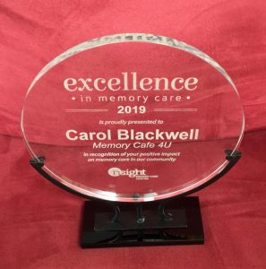 Excellence in Memory Care award 2019
